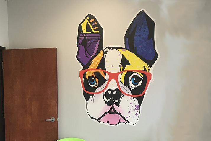 Custom Vinyl Wall Graphics   Northshore Sign Shop