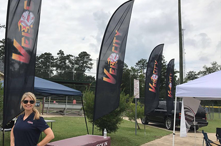 Custom Feather Flags Northshore Sign Shop Slidell Louisiana