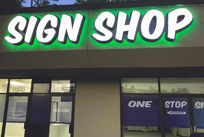Custom Signs Fast   Northshore Sign Shop
